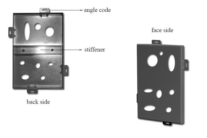 镂空铝单板-产品结构
