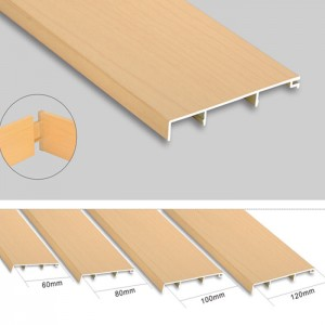 Wall Anti-collision Aluminum Skirting Board