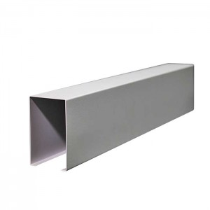 U-Shaped Aluminum Baffle for Corridor