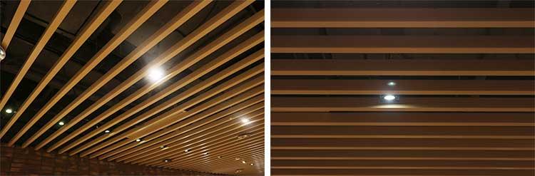 wood-grain-aluminum-baffle-ceiling-system