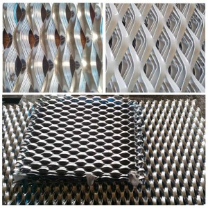 Expanded Metal Mesh Cladding Decoration Sheet