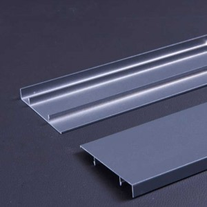 1.2 mm Thick Grey PE Coating Aluminum Alloy Wall Baseboard Decoration