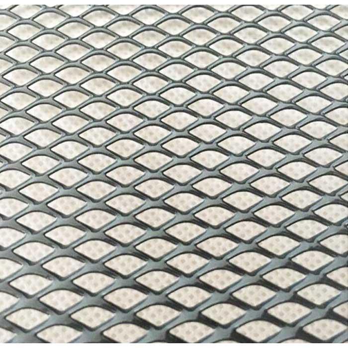 powder coated home decoration gutter guard aluminum mesh