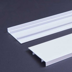 1.0mm Thick Pure White Aluminum Alloy Baseboard Panel