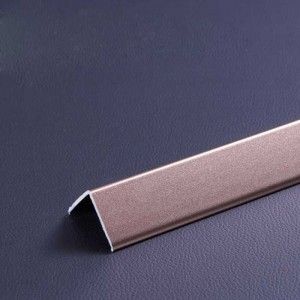 1.2 mm Thick Scrub Rose Color Aluminum Skirting Board