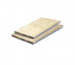 Bamboo Aluminum honeycomb panel