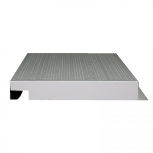 Perforated aluminum corrugated panel