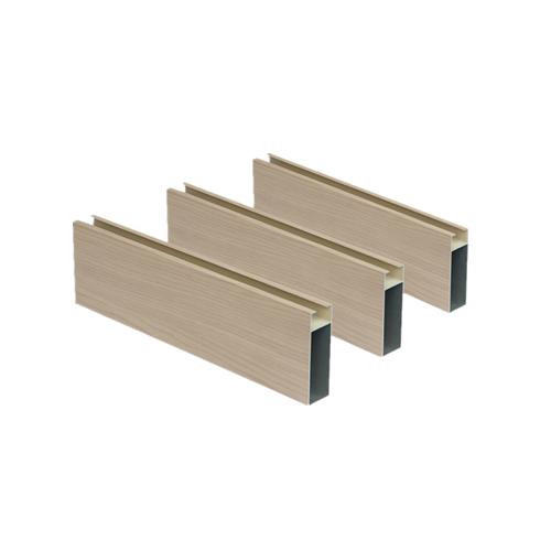 Wood Grain Profile Aluminum Ceiling