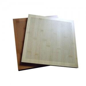 Perforated Wood Grain Aluminum Honeycomb Panel