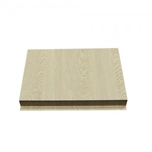 Wood Grain Aluminum Corrugated Panel
