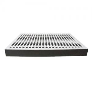 Perforated aluminum honeycomb panel