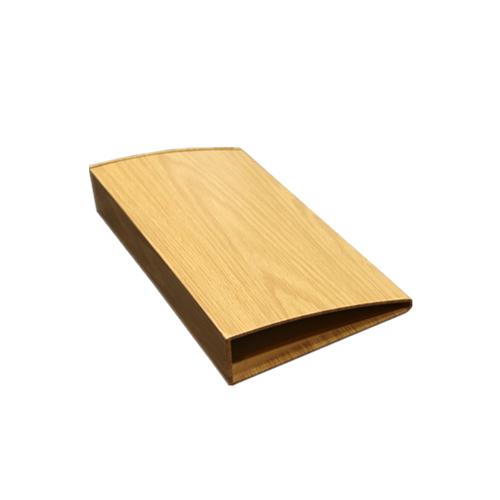 Wood Grain Profile Aluminum Handrail