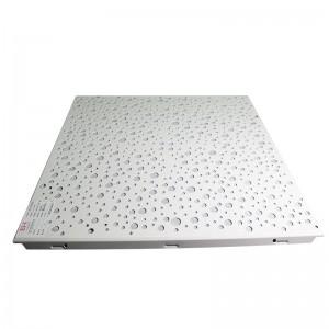 Perforated Square-shaped Aluminum Ceiling
