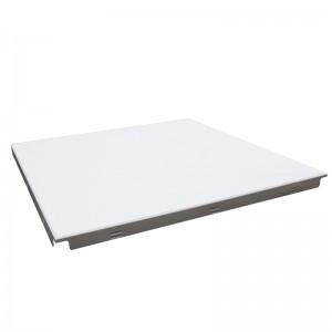 High-edge Square-shaped aluminum ceiling