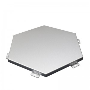 Hexagonal Aluminum Cladding Panel