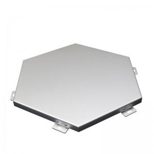 Hexagonal Aluminum Cladding Panel