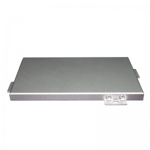 Business Building PVDF Aluminum Plate Cladding Panel