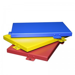 Polyester Powder Coated Aluminum Cladding Panel