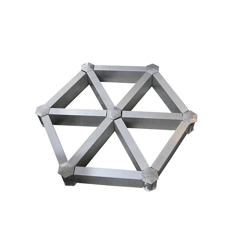 Hexagon Aluminum Grid Ceiling Tiles