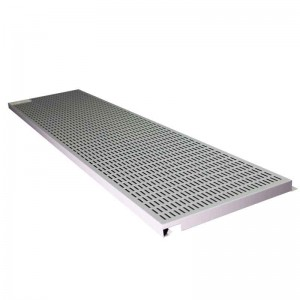 Perforated Aluminum Hook-on Ceiling Tiles Suspended Decoratition