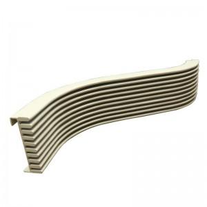 Multi-layer Curved Aluminum Cladding Panels