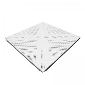 Standard Perforated Sound Absorbing Aluminum Ceiling Tile