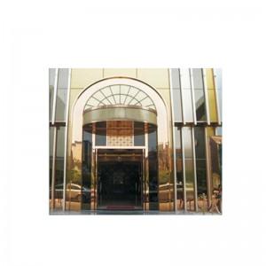 Stainless Steel Hotel Door Decoration