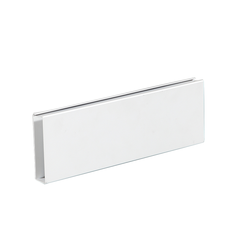 U Baffle Aluminum Ceiling Tiles For Shopping Mall Atrium Ceiling And Corridor