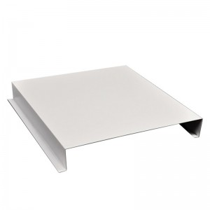 G Shaped Aluminum Linear Ceiling Tiles