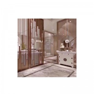 Hall Stainless Steel Screen Partition