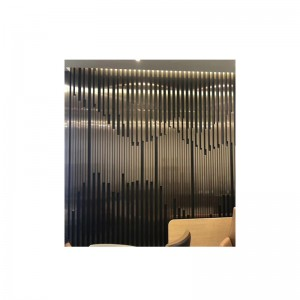 Strip Stainless Steel Background Wall