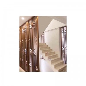 Brushed Stainless Steel Screen For Stairs